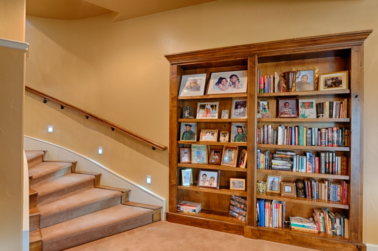 Basement Bookshelf