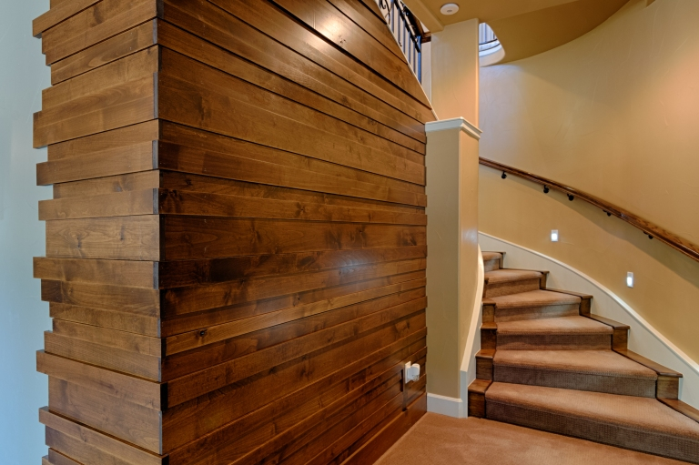 Basement Wood Wall